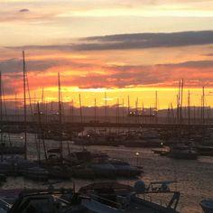 Il tramonto da Muggia
