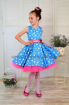 Хипстерское платье для куколки Дав