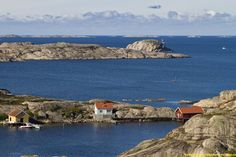 Sweden has nearly 270,000 islands. But only 984 of them are populated! Here's one of the few. (All according to stats from Statistics Sweden.)