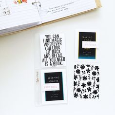 free black and white printables from Feed Your Craft
