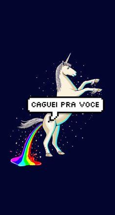 Caguei pra você  #Unicorn #Unicórnio