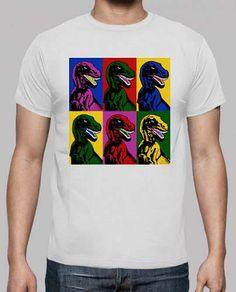 Prezzi e Sconti: #Dinosauro pop art  ad Euro 22.00 in #Tostadora #T shirt uomo