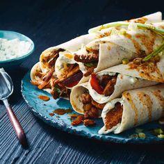 Pork & Capsicum Tacos