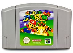 Super Mario 64 - what I spent most of my childhood playing