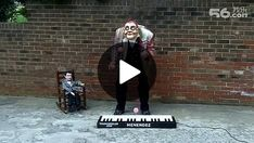 Juggling playing the piano
