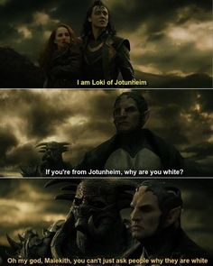 Oh my god Malekith! hahaha