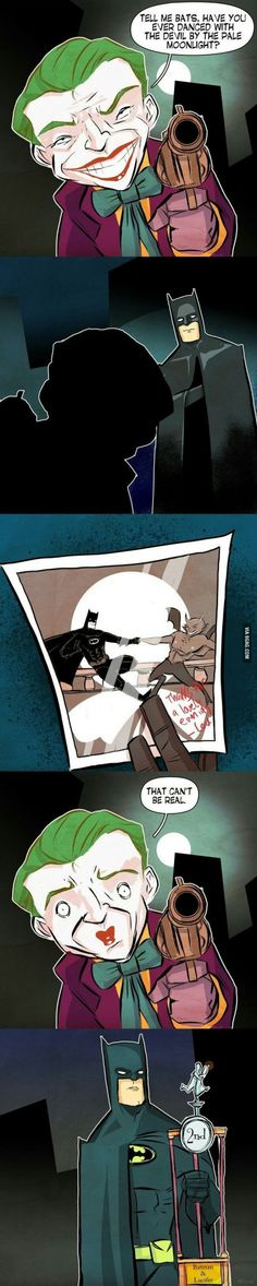 Well there is nothing that Batman can't do