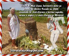 A Cidade Sagrada é constituida apenas de túmulos dos mestres juremeiros, envolvidos por centenas de pés de jurema. Alhandra é o pais da ju...