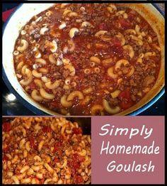 Simply Homemade Goulash