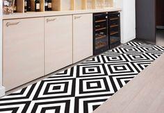 Area rug - Floor runner -model 140 suitable for  entrance, garden/ print rugs/ kitchen floor mat/ kitchen mat/ tile rug / Hallway rug by Printip on Etsy