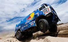 Red Bull Rally Truck