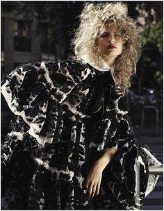 Elizabeth Erm by Driu + Tiago for Vogue Ukraine December 2014