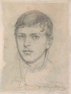 Stanisław Wyspiański, Autoportret | 1890, Muzeum Narodowe w Krakowie