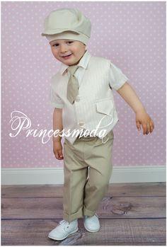 RICHY - Eleganter Festanzug - Taufanzug für den Sommer! - Princessmoda - Alles für Taufe Kommunion und festliche Anlässe