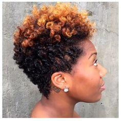 Summer Cuts ( Short Natural Hair )