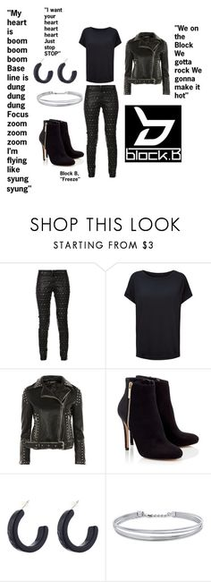 """""""Block B """"Freeze"""" Edgy"""" by nereidanelyc on Polyvore featuring Thomas Wylde, Sweaty Betty, Topshop, Lipsy and BERRICLE"""