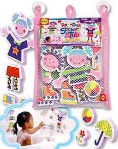Bath Toy: Rub a Dub Stickers for the Tub