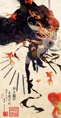 images for anime art Art Et Illustration, Character Illustration, Creation Art, Estilo Anime, Grafik Design, Character Design Inspiration, Aesthetic Art, Asian Art, Japanese Art