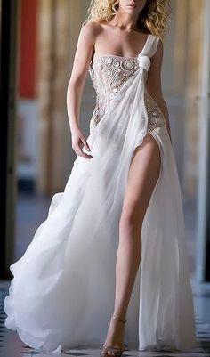 Beautiful dream dress amazing with glowing whiteness.