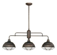 View the Millennium Lighting 5313 Neo-Industrial 3 Light Single Tier Linear Chandelier at Build.com.