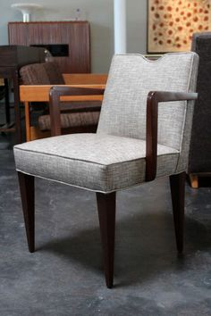 dining chair by edward wormley for dunbar