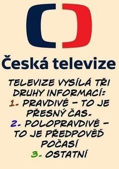 Výsledek obrázku pro Česká televize vtipy