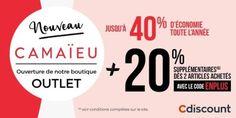 [  #BonPlan #OUTLET #MODE ] #OP de @Cdiscount  @Camaieu_France...