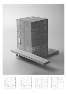 Interesting Find A Career In Architecture Ideas. Admirable Find A Career In Architecture Ideas. Maquette Architecture, Architecture Design, Architecture Graphics, Concept Architecture, Architecture Drawings, Landscape Model, Arch Model, Interesting Buildings, Planer