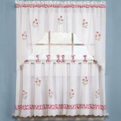 Oopsy Daisy Kitchen Curtains.