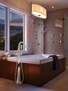 Collection: Virage • Finish: Polished Chrome  • Product: Bath Collection