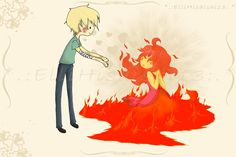 bachousita:    finn and flame princess