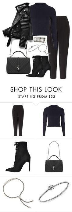 """""""Untitled #2520"""" by theeuropeancloset ❤ liked on Polyvore featuring Kin by John Lewis, Topshop, Jeffrey Campbell, Yves Saint Laurent, H&M, Monica Vinader and Michael Kors"""