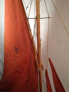 D tails sur canot de bassin bateau voilier nova 5 voiles n 8 longueur hors tout 90cm ebay and - Voilier de bassin ancien nanterre ...