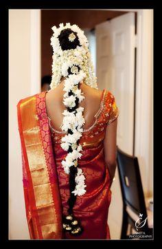 beautiful flower filled hair…