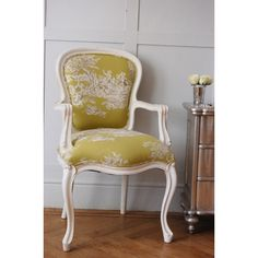 upholstered toile chairs - Google Search