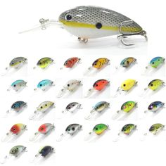 wLure Crankbait Hard Bait Deep Diver Jerkbait Slow Floating Wide Wobble 10cm 15g Fishing Lure C55 -- Haciendo click sobre la VISITA botón le llevará a encontrar productos similares