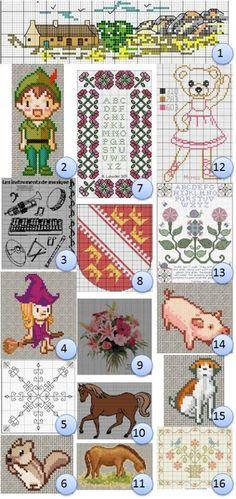 Free cross-stitch charts