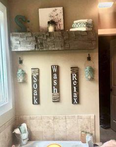 Farmhouse Bathroom Decor