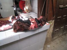 A Collection of Sheep Heads - Fes Medina
