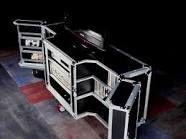 I love flight case furniture.
