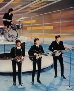 """Feb. 9, 1964. 73 million viewers watch the Beatles in their first live appearance on the """"Ed Sullivan Show."""