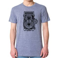 Classic Rolleiflex Camera Men's T-Shirt