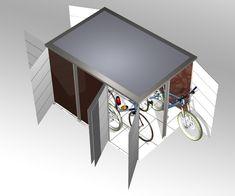 pingl par sabine blumrath sur garten pinterest abri v lo refuges et oleron. Black Bedroom Furniture Sets. Home Design Ideas