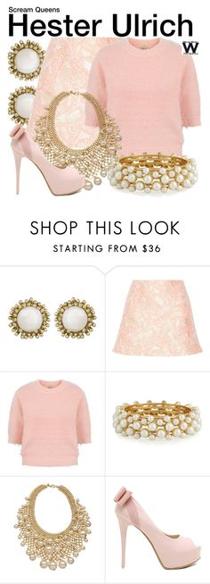 """""""Scream Queens"""" by wearwhatyouwatch ❤ liked on Polyvore featuring Kendra Scott, Opening Ceremony, Yumi, R.J. Graziano, Kenneth Jay Lane, women's clothing, women's fashion, women, female and woman"""