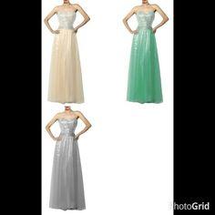 Collar:Off Shoulder Material:Dacron Embellishment:Paillette Occasion:Party Dress Length:Long Element:Cut Out Style:Stylish