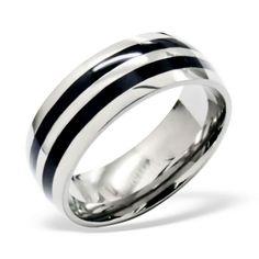 pánske prstene (luxusné, exkluzívne - titán, wolfrám, oceľ a striebro) Titanic, Lapis Lazuli, Bracelets, Rings For Men, Wedding Rings, Engagement Rings, Jewelry, Design, Engagements