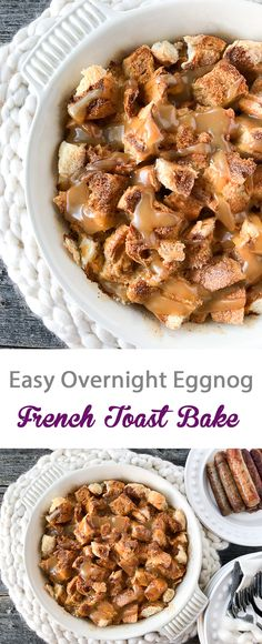 Easy Overnight Eggno