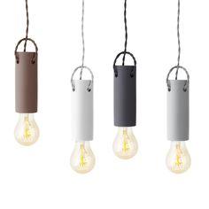 Menu Tied Ceramic Ceiling Lamp, $80