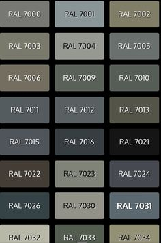Window Frame Colours, Window Frames, Cottage Design, House Design, Ral Colours, Collor, Colour Board, Facade House, House In The Woods