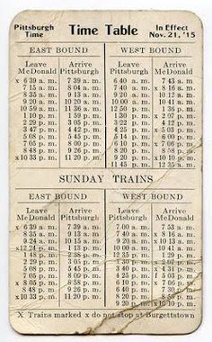 I used to think of these as being quite quaint. then I remembered the ferry schedule I have squirreled away in the door of the car - and. Junk Journal, Journal Paper, Journal Cards, Vintage Labels, Vintage Ephemera, Vintage Paper, Images Vintage, Old Paper, Printable Paper